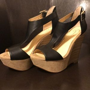 Jessica Simpson's Wedge Sandals